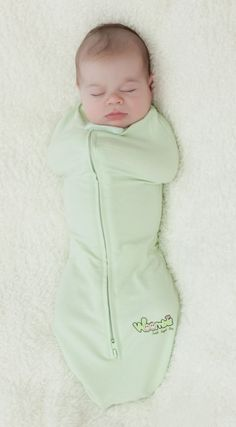 Best baby product ever!!! My husband calls it Tenley's straight jacket but it calms her instantly when she cries uncontrollably and she sleeps so well at night in it.
