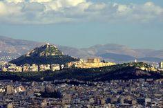 Nikolaos Pantazis - Athens Acropolis, Lykabettus and Philopappou hills - ..