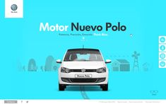 Nuevo Polo (Web site) by ♠    Jesús Barajas, via Behance