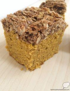 Pumpkin Coffee Cake   Hettman Homestead