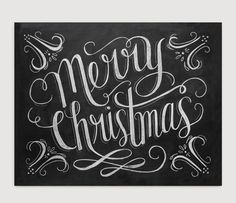 Designed for a simple purpose: to wish you a Merry Christmas! A timeless, hand lettered message coupled with festive flourishes makes this a classic piece to warm your home for years to come. Bring an
