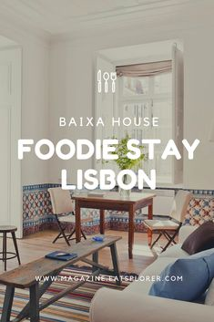 Baixa House in Lisbon is the type of accommodation you always dream of finding when you travel - affordable, stylish and close to the best restaurants. Lisbon Accommodation, Wine List, Mediterranean Style, Morning Food, Traveling By Yourself, Portugal, How Are You Feeling, Lovers, Restaurant