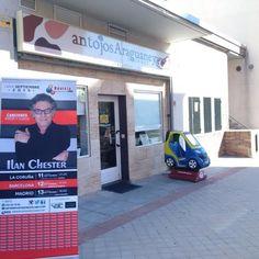 Cuando vengas a @Antojosaraguaney a comprar tus provisiones o darte un gustico recuerda que tienes las entradas de la presentación de Ilan Chester en Madrid