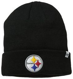 NFL Officially Licensed Pittsburgh Steelers  47 Brand Logo Cuffed Beanie  Hat Cap Lid 9ca64b7d8