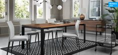 Collections exclusives   La Galerie du Meuble Ikea, Dining Table, Collections, Furniture, Home Decor, Living Spaces, Decoration Home, Ikea Co, Room Decor