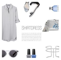 """""""Shirtdress"""" by nmkratz ❤ liked on Polyvore featuring Anya Hindmarch, United by Blue, APM Monaco, OPI, 3.1 Phillip Lim, Illesteva and Lord & Berry"""
