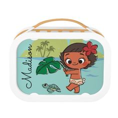 Moana, The Ocean Princess - Cute Lunch Boxes for children. #cute  #princess #lunchboxes #forchildren