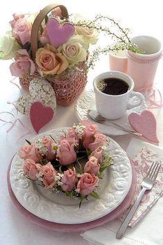 "katysflowersandantiques: ""Coffee Time ! """