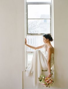 window sill bride