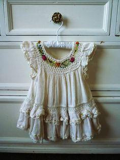 boho baby dress