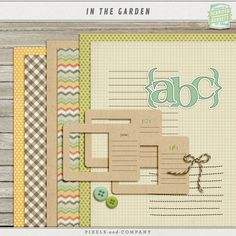 """In The Garden ✿ Join 7,300 others. Follow the Free Digital Scrapbook board for daily freebies. Visit GrannyEnchanted.Com for thousands of digital scrapbook freebies. ✿ """"Free Digital Scrapbook Board"""" URL: https://www.pinterest.com/sherylcsjohnson/free-digital-scrapbook/"""