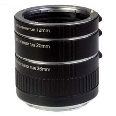 Promaster Extension Tube Set for Nikon - Includes 12mm, 20mm, & 36mm $99.95