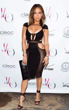 Jennifer Lopez celebrates 46th birthday in risque black dress, all the latest styles | Fashion