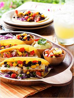 Make these fish tacos for your summer dinner parties. http://www.ivillage.com/summer-food-eat/3-a-536520