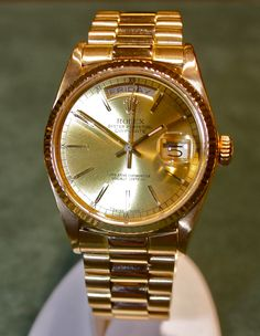 This sleek Men's Rolex Watch is available in our Estate Watch Department