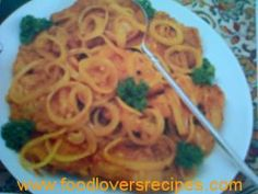 OUTYDSE BLIKKIE KERRIEVIS Afrikaans, Spaghetti, Lovers, Fish, Meat, Ethnic Recipes, Afrikaans Language, Spaghetti Noodles