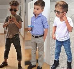 Pretty Boy Names #fashion #style - Want to style my son like this when he's older, especially the haircut!