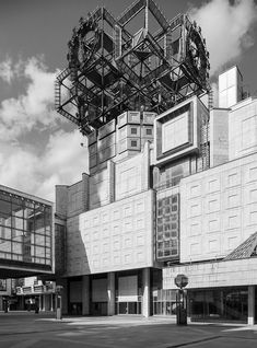 Брежневский брутализм: 10 домов —от Останкинской телебашни до Театра на Таганке и Пресненских бань