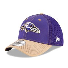 New Era Baltimore Ravens Purple NFL Kickoff Neo 39THIRTY Flex Hat - $25.59