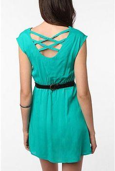 UrbanOutfitters.com > Urban Renewal Lattice Back Dress