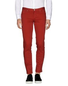 ALV ANDARE LONTANO VIAGGIANDO Men's Casual pants Brick red 32 waist