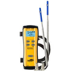Fieldpiece SDP2 Dual In Duct Psychrometer Hygrometer Humidity Meter  The SDP2 provides HVACR professionals with more insight for HVAC evaporator performance than other psychrometers.  Fieldpiece's SDP2 takes 4 evaporator measurements simultaneously - supply dry bulb, supply wet bulb, return dry bulb & return wet bulb.