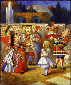 Sir John Tenniel Lewis Carroll's Alice in Wonderland (Alice aux pays des Merveilles). John Tenniel, Lewis Carroll, Cs Lewis, Alice Day, Queen Of Hearts Alice, Alice In Wonderland Illustrations, Doodle, Mad Hatter Tea, Mad Hatters