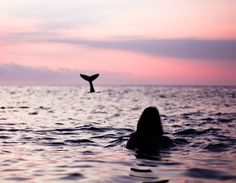 swimming with a whale — #MindBodySpirit. Brought to you by SunGoddess Magazine: Igniting the Powerful Goddess WIthin http://sungoddessmagazine.com