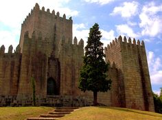 GUIMARAES, Portugal: is associated with the emergence of the Portuguese national identity in the 12th century.  An exceptionally well-preserved & authentic example of the evolution of a medieval settlement into a modern town, its rich buildings exemplify Portuguese architecture from the 15th to 19th century through the consistent use of traditional building materials and techniques.