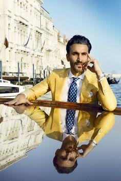 Yellow Blazer | Men's Fashion | Menswear | Spring/Summer | Moda Masculina | Shop at DesignerClothingFans.com