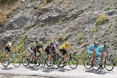 Tour de France 2015: Stage 17 The GC group climbs during stage 17