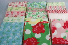 made Scarlett a quilt out of this fabric in 2008. would love to do an entire nursery in it. Moda Swell by Urban Chiks