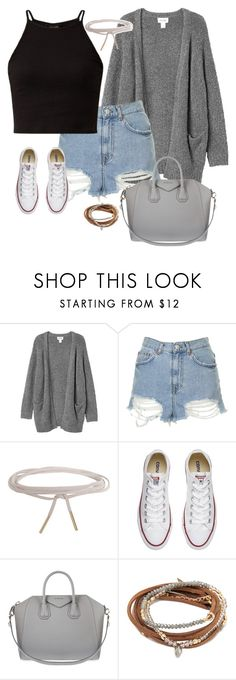"""The Bad Boys Dreams (Day One)"" by kierstin518 on Polyvore featuring Monki, Topshop, Humble Chic, Converse and Givenchy"