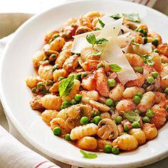 Gnocchi with Creamy Tomato Sauce From Better Homes and Gardens, ideas and improvement projects for your home and garden plus recipes and entertaining ideas.