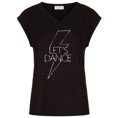 Claudie Pierlot  Transe Let's Dance T-Shirt (6,085 INR) ❤ liked on Polyvore featuring tops and t-shirts
