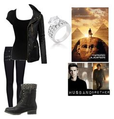 """me in: 'jumper'"" by j-j-fandoms ❤ liked on Polyvore featuring Paige Denim, Scoop, LE3NO and Charlotte Russe"