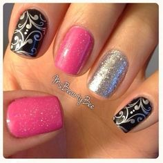 nail stamps - Click image to find more nail art posts