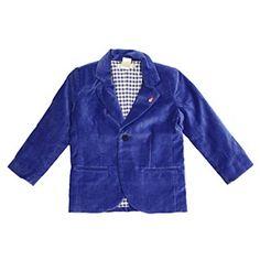 Billybandit Blue Velour Blazer