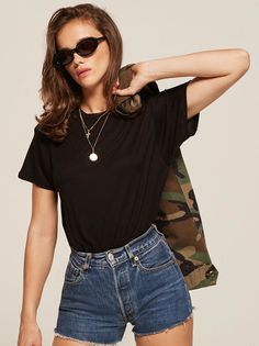 Plush Relaxed Crew Tee Women's T-shirt