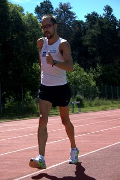 Yohann DINIZ sur la piste du CNEA Font Romeu, été 2014