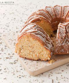 Bundt cake de naranja sanguina ,miel y lavanda -http://larecetadepatricia.blogspot.com.es/