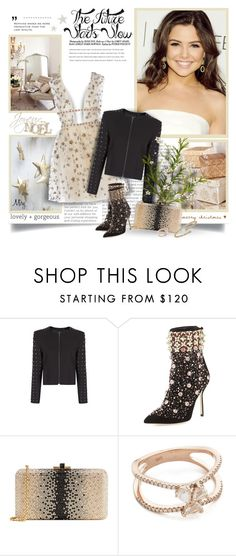 """""""Everyone Is A Star And Deserves The Right To Twinkle"""" by thewondersoffashion ❤ liked on Polyvore featuring Prada, MANGO, Manolo Blahnik, Judith Leiber, Luna Skye and Chimento"""