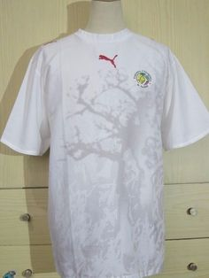4c214113731 Senegal puma 2006 home world cup african vintage football shirt soccer  jersey xl