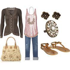Love pink & brown
