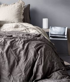 We're really into this linen duvet set ($70), and it's not just for the price. Instead of resorting to cotton bedding, linen is a great option heading into the Summer. This is also a great pick if you're trying to merge decor styles with your guy.