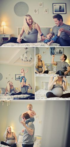 beautiful at-home maternity session by Erin Wallis,awesome!