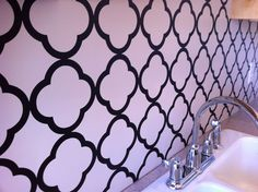 wall decals kitchen backsplash - backsplashes