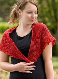 Siuslaw Shawl Pattern - Knitting Patterns by Emily Ross I have made 2 of these and Iove them both!  Pattern $5.99,  Sock yarn