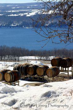 Fingerlakes Winery on Seneca Lake New York by CharleneLeisingPhoto, $50.00