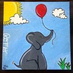The completion of Romy! 🐘😇 . . . . #Romy #baby #babyshower #babyelephant #elephant #cute #love #babyboy #itsaboy #special #gift #spring #summer #artofinstagram #canvasart #canvaspainting #acrylicpainting #acrylic #orlandoartist #artwork #artista #artoftheday #blue #red #yellow #gray #sun #balloon #babyonboard #painter #evedeso #eventdesignsource - posted by Raquel ✨ https://www.instagram.com/theartistformula. See more Baby Shower Designs at http://Evedeso.com